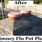 Flu Pot Plug Installed