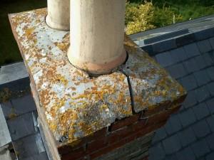 Broken Chimney Cap Image