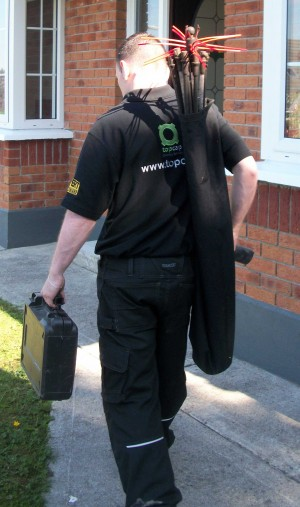 Chimney Sweep Technician Image