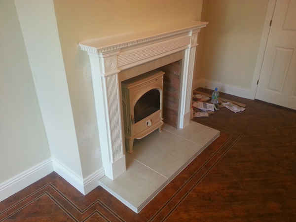 Stove Install Leopardstown Angle 2 Image