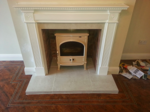 After Leopardstown Stove Install Image