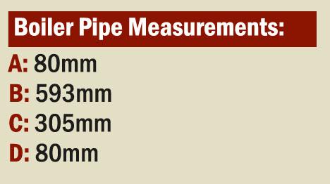 Glendine Boiler Pipe Measurements image