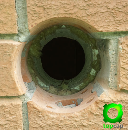 Cored Vent Hole
