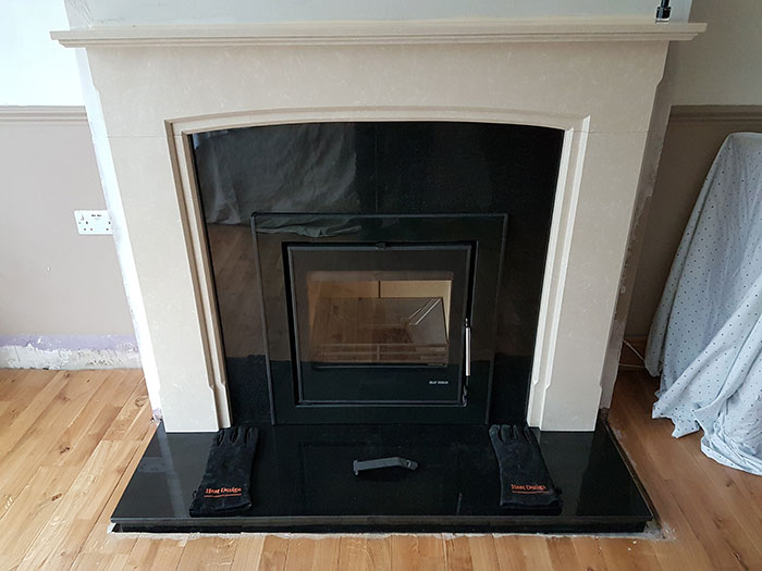 Cassette Stove Fireplace Image