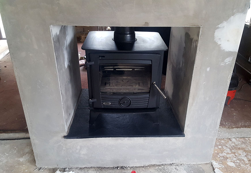 Druid 14 KW double sided stove Image