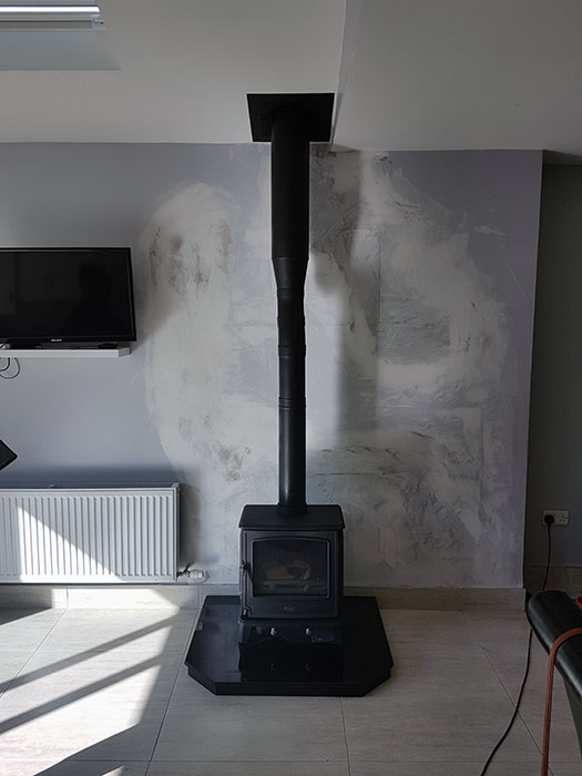 Henley Ascot Stove Install Image
