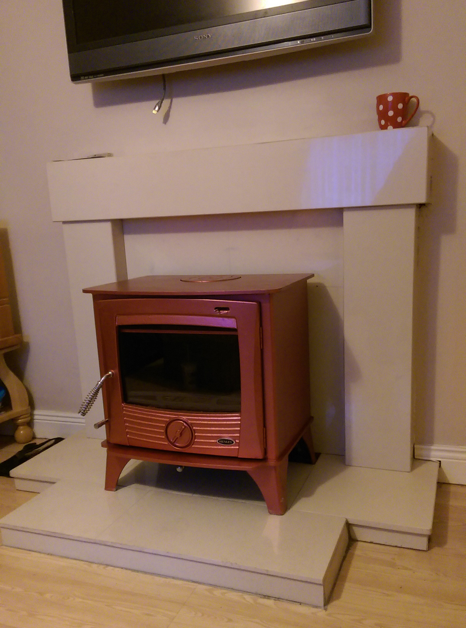 Red Druid 12kw boiler image