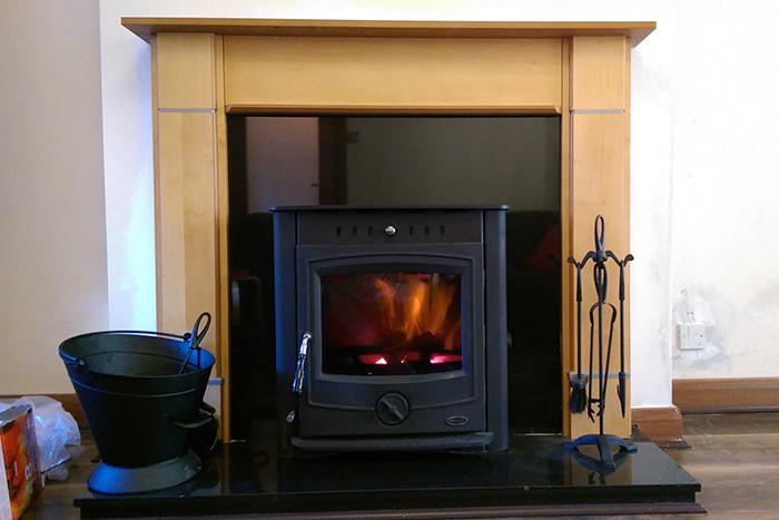 Henley Achill 17 kw nsert boiler stove