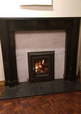 Henley Achill insert stove Image