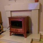 Henley Druid 12 kw Red Stove Image