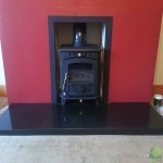 Inset Free Standing Stove Image
