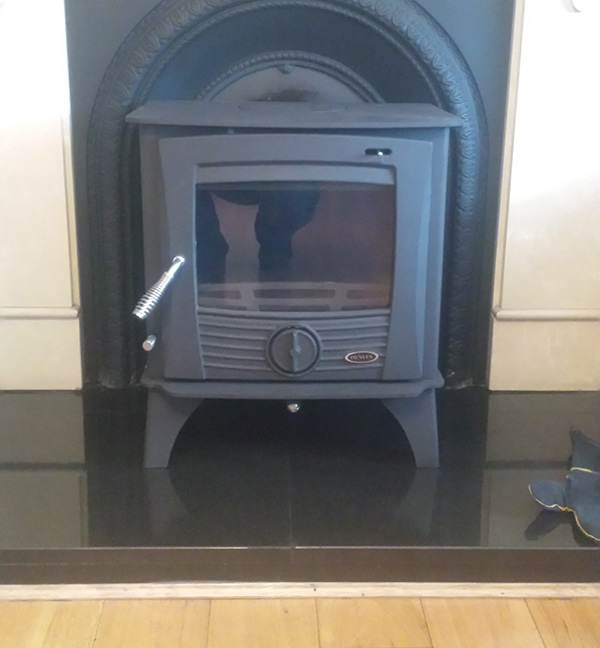 druid 8 kw free standing stove image