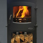 5kw devon stove log box image