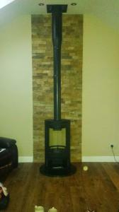 Free standing stove Image