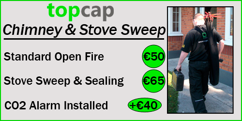 Chimney Sweep Cleaning Cost Image