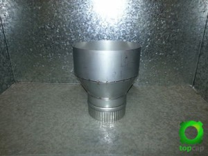 5 to 8 Inch Flue Adapter Image