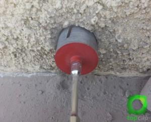 Coring air vent image