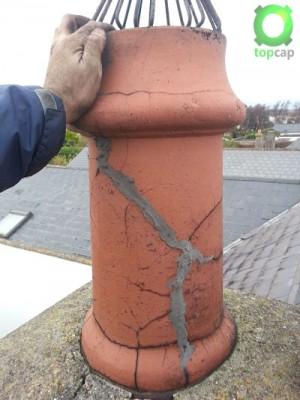 Broken Flue Pot Baldoyle Image