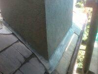 chimney flashing image