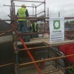 chimney rebuild Ranelagh image