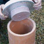 Chimney Plug Install Image