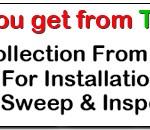 Stove Installation Image