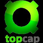 top cap logo png watermark image