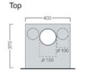 Porto 400 top dimensions image