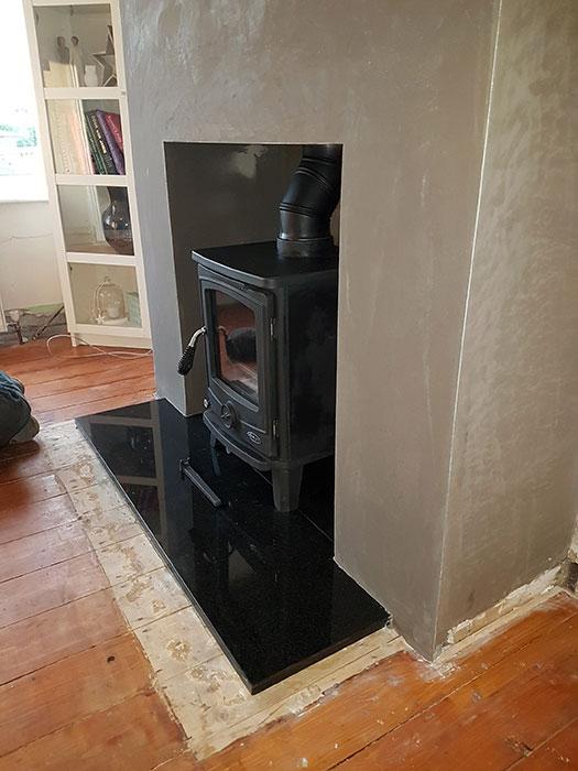 Cambridge Stove Install Image