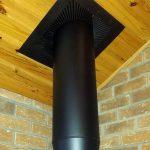 Ceiling Exit Flue Pipe Image
