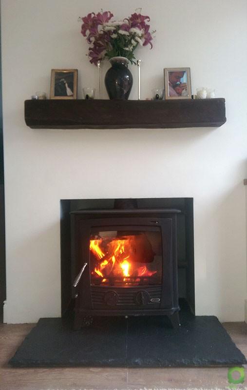 Henley Druid 25kw Boiler Stove Install image