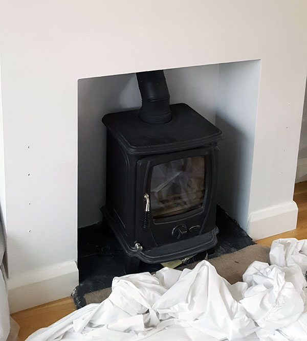 Stanley Aoife Stove Install Image