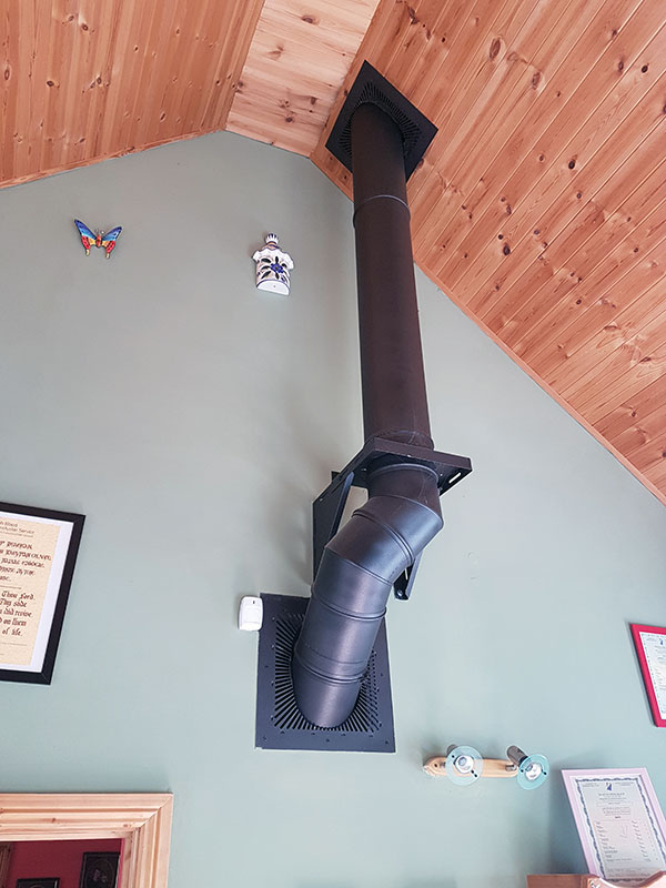 Twin Wall Flue Timber Frame Image