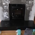 Anvil Enamel Fireplace Inset Image
