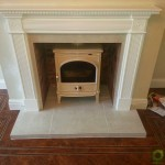 Inset fireplace stove Image