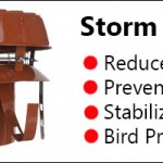 Storm Cowl For Stoves Image