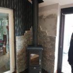 Heritage Log Box Stove Install Image