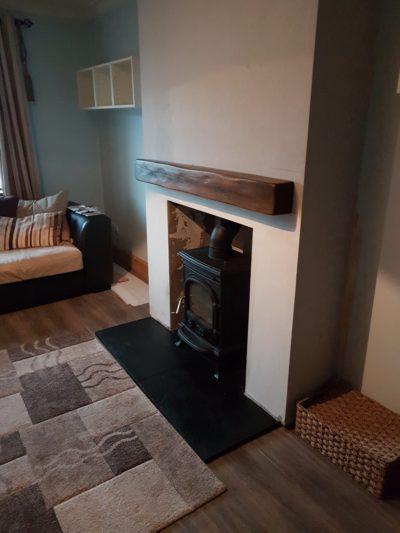 Dark Oak Geo Beam and Fireplace Chamber Image