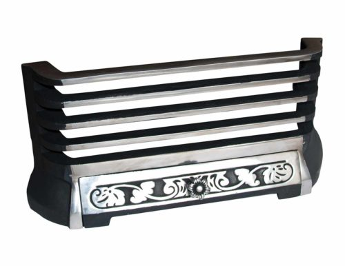 Chester Polished Front & Fret Fire Grate image