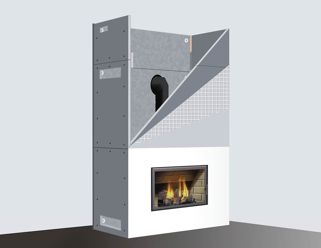 Skamotec High Temperature Boards Chimney And Stove