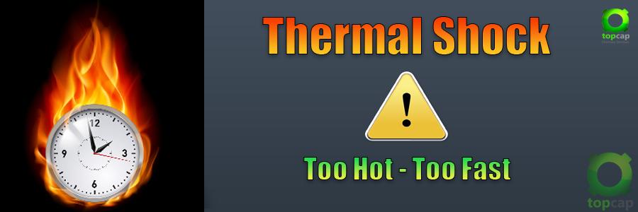 Thermal Shock Warning Image