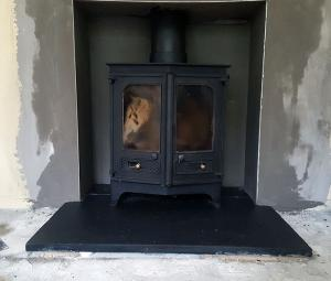 old stove install Image