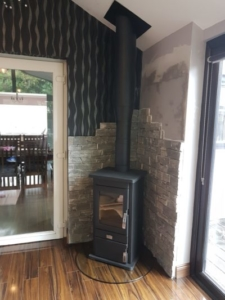 Conservatory Stove Installation Image