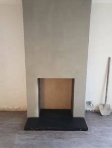 Fireplace Chamber Stove Dig Out Image