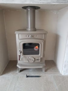 Henley Aran 6 KW Stove Install Image