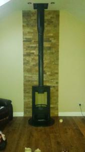 Sunroom stove 2 image